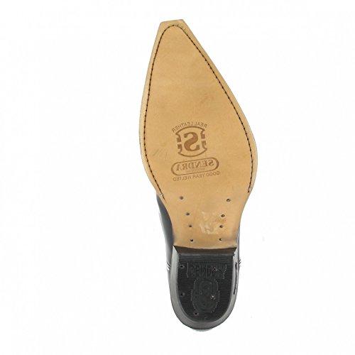 Sendra Boots  2073, Bottes et bottines cowboy mixte adulte Noir - Florentic Negro