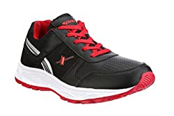 Sparx Men Black & Red Running Shoes (SM-503)