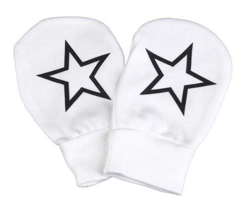 Spoilt Rotten - Stars Design 100% Baumwolle Kratzhandschuhe Fäustlinge Handschuhe