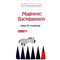 Magnetic Travel Game Backgammon (multilingual)