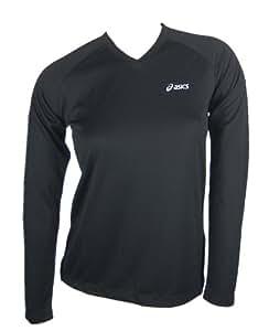 Asics Sportshirt Chumba V-Neck longsleeve Women Art. 572924 black size XXL