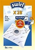Swirl Staubsaugerbeutel X28 / X 28 MicroPor für diverse Staubsauger
