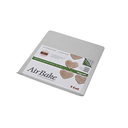 AirBake Natural Cookie Sheet, 14 x 12 in by T-fal