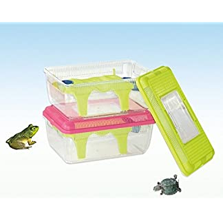 Heritage Rodeo 14 Frog Terrapin Turtle Tank Insect Reptile Plastic Breeding Box (Green) Heritage Rodeo 14 Frog Terrapin Turtle Tank Insect Reptile Plastic Breeding Box (Green) 41vH3Pq nrL
