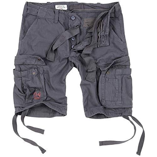 Surplus Men Cargo Shorts Airborne Vintage, Größe:3XL, Farbe:Anthrazit
