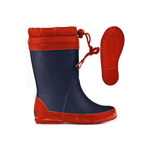Gummistiefel - 751-rbrj - Kind Blue-Red