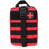 GXYCP Medizinische Tasche EMT Outdoor Reise Erste Hilfe Kit Molle Bergsteigen Klettern Lebensrettende Tasche,Red preisvergleich bei billige-tabletten.eu