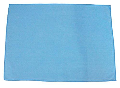 Sonty 1 Stück Premium Microfasertuch, für die Professionelle Autoreinigung, 50 x 70 cm in blau, Mikrofasertuch als Autoleder Zum Auto Trocknen (1)