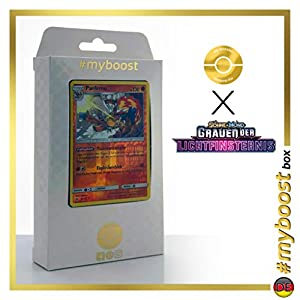 Panferno (Infernape) 59/131 Holo Reverse - #myboost X Sonne & Mond 6 Grauen Der Lichtfinsternis - Box de 10 Cartas Pokémon Aleman