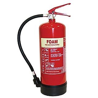 Foam Fire Extinguisher - 6Ltr AFFF Foam Extinguisher FireShield