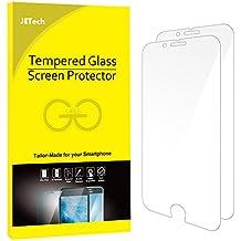 JETech Protector de Pantalla para iPhone 6s Plus iPhone 6 Plus, Vidrio Templado, 2 Unidades
