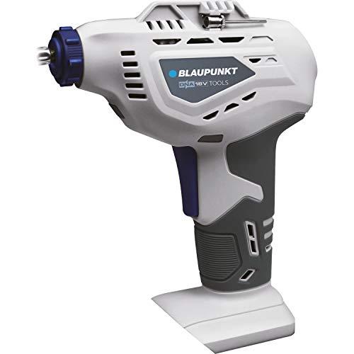Blaupunkt LPSA 754303 Akku Luftpumpe, solo, ohne Akku und ohne Ladegerät, inkl. Adapter für Auto-, Fahrradreifen sowie Bälle usw.