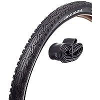 Kenda Uni Kahn Fahrradreifen-Set, Schwarz, 26 x 1.95 Zoll