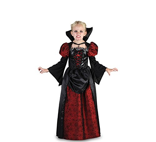 Imagen de disfraz de vampiresa cordelia para niña t 01 4/6a