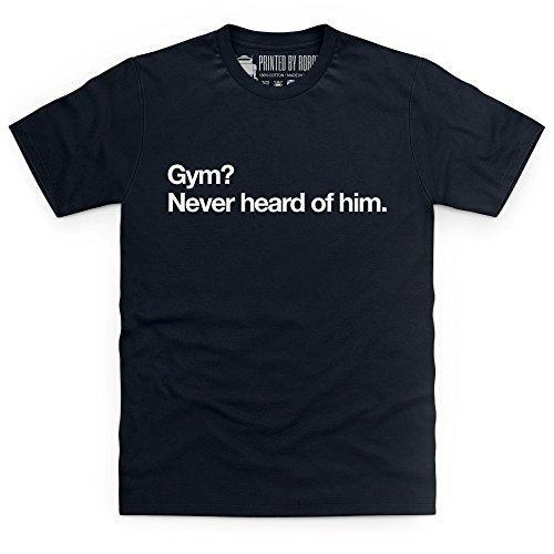 Gym T-Shirt, Herren Schwarz