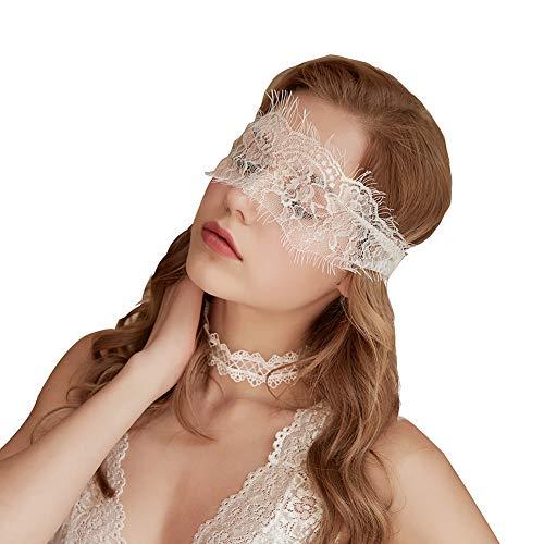 VicSec Máscara Encaje Blanca