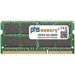 PHS-memory 8GB RAM mémoire pour ASUS ROG G750JZ-T4148H DDR3 So DIMM 1600MHz PC3L-12800S
