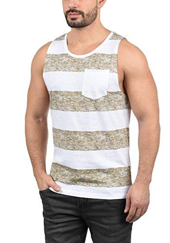 a Herren Tank-Top Muskelshirt Fitness-Shirt mit Rundhals-Ausschnitt aus 100% Baumwolle, Größe:XL, Farbe:Safari Brown (75115) ()