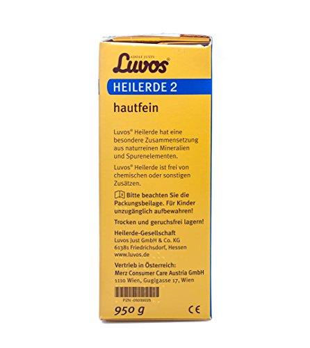 Luvos Heilerde 2 – hautfein, 950g - 5