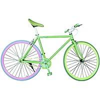 """Wizard Industry Helliot Soho 5306 - Bicicleta Fixie, Cuadro de Acero, Frenos V-Brake, Horquilla Acero y Ruedas de 26"""""""