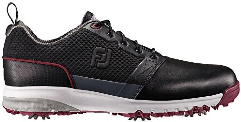 Hombres de zapatos de golf FootJoy contourfit - 54098-115, Negro
