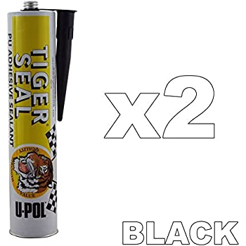 Brand New! Tiger Seal Black For Bodykits Body Parts Side Skirts
