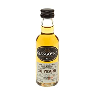 Glengoyne 18 year old Single Scotch Malt Whisky 5cl Miniature by Glengoyne