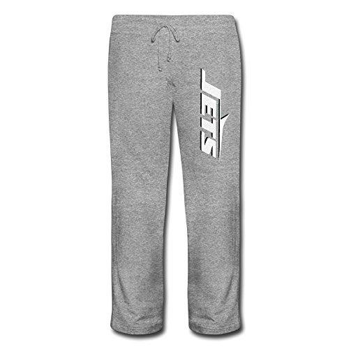 JaZ1rweid Damen Jets Funny Elastic Waist Cotton Bottom Sweatpants Ash, Damen, Asche, XL -