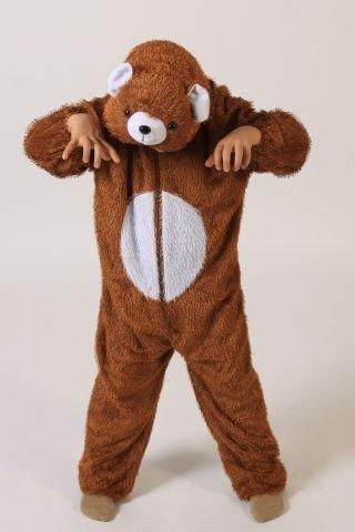Bär Kostüm Mädchen - Foxxeo Bärenkostüm für Kinder Bär Kostüme für Junden und Mädchen Bärenkostüm Größe 110-116