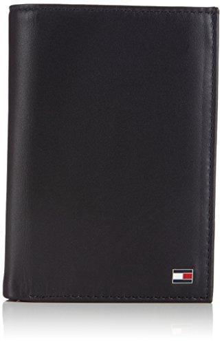 Tommy Hilfiger Herren Eton N/S Wallet W/Coin Pocket Geldbörsen, Schwarz (Black 990), 13x9x2 cm