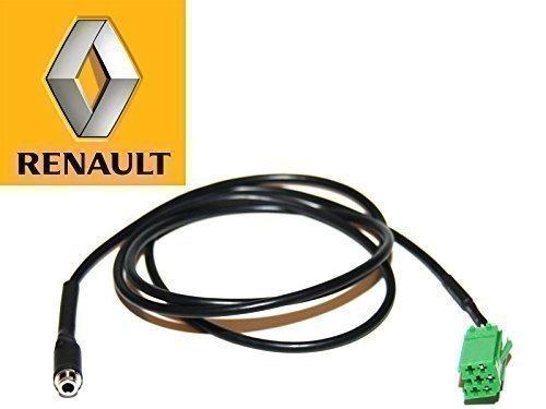 Renault AUX Kabel 3.5mm buchse kabel für Update Liste radio nur. PC7-REN-J Megane Clio Laguna Verkehrs Twingo Scenic Espace für iPhone Android Sony Samsung HTC MP3 iPod usw (Plug-in Auto-cd-player)