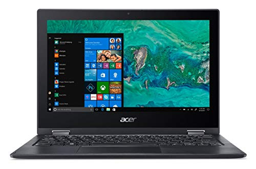 Acer Spin SP111 11.6-inch Laptop (Intel Pentium Silver N5000/4GB/500GB/Windows 10 Home/Integrated Graphics), Obsidian Black