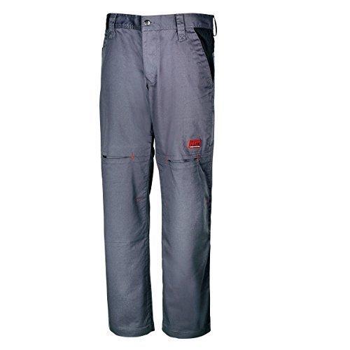 """Honeywell Stretch-Arbeitshose mit Polstertaschen """"H 303"""" ACE-Edition; Farbe: grau/schwarz; Gr. M"""