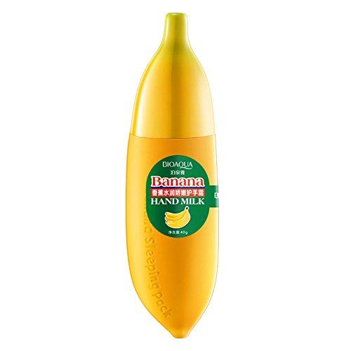 Etosell 40ml Hydratante Peau Soins Magique Banane Lait Creme Pour Les Mains