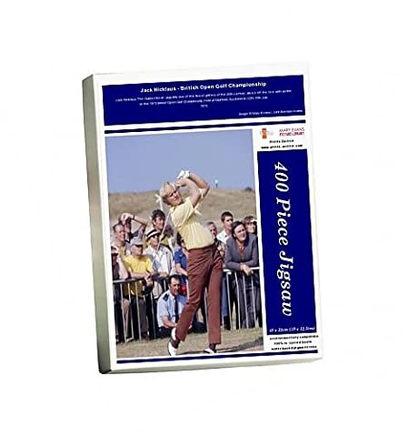 Photo Jigsaw Puzzle of Jack Nicklaus - British Open Golf Championship