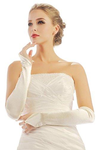 HBH Hamburger Brautmoden Braut-Handschuhe 9304 Ivory