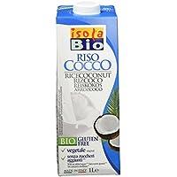 Isola Bio Bebida de arroz y coco - Paquete de 6 x 1000 ml - Total