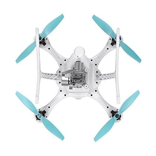 Ehang GHOSTDRONE 2.0 Aerial RC + Quadrocopter mit 3-Achsen Hochpräzisionsgimbal &4K HD Sports Actionkamera, iOS/Android APP Bedienung, 25 Min Flugdauer, Bis zu 1000m Sendebereich,Weiß - 9