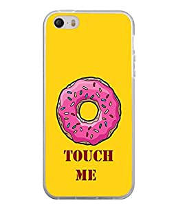 PrintVisa Designer Back Case Cover for Apple iPhone 5 (Love Lovely Attitude Men Man Manly)
