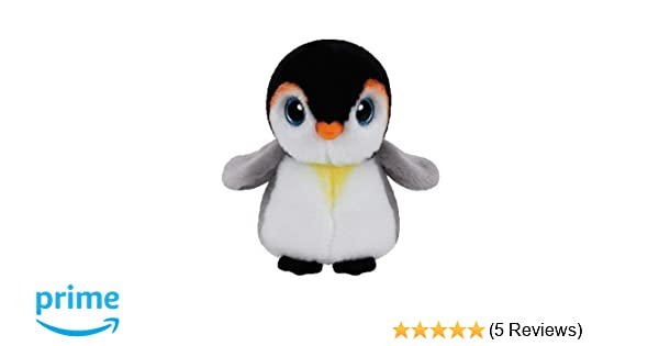 ccb0adaf587 TY Beanie Babies 42121 Pongo the Penguin  Amazon.co.uk  Toys   Games