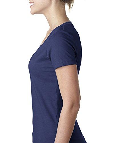 Next Level - T-shirt - Femme bleu nuit