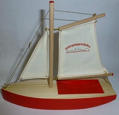Ogas 2054 Segelschiff holzspielwaren-dresden.de Segelboot aus Holz von Ogas