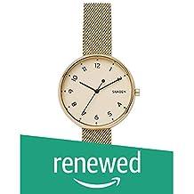 (Renewed) Skagen Analog Gold Dial Women's Watch - SKW2625
