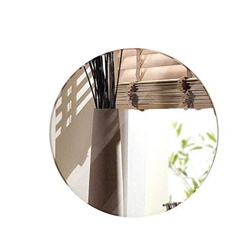 Espejo Artículos for el hogar Colgar de la Pared Espejo Redondo, HD sin Marco Exquisito Molienda 1,5...