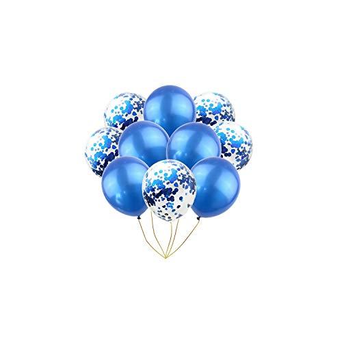 Latexballons Rosa 12 Zoll Partei-Ballone Für Babyparty Brautparty Hochzeit Dekorationen, Blau