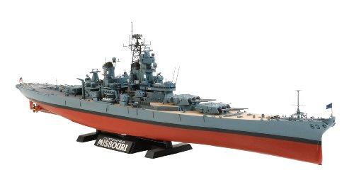 Tamiya 300078029 - nave da guerra americana bb-63 missouri ('91), scala: 1:350