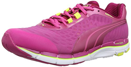 Puma Faas 600 V2 Women's Chaussure De Course à Pied Multicolore (Cerise/Fuchsia Purple/Yellow)