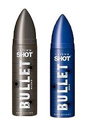 LAYERR Shot Bullet Bang & Reload Deodorant For Men ( Set Of 2 )