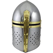 Sugarloaf Armour casco Gran Yelmo medieval Armour casco Crusader