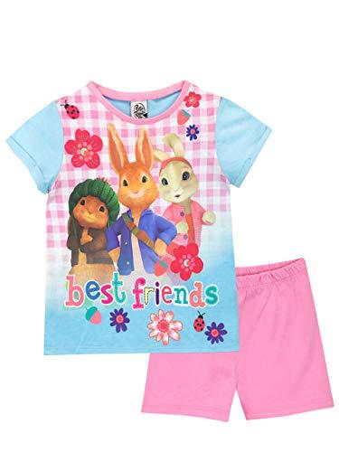 Peter Rabbit Mädchen Peter Hase Schlafanzug Rosa 104